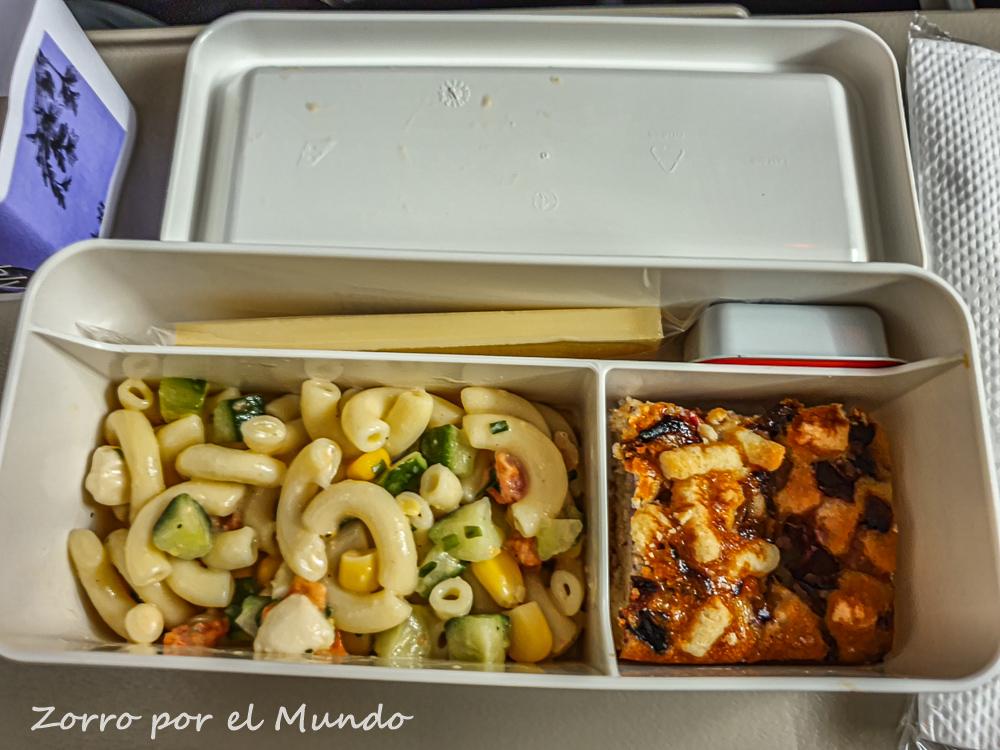 Lufthansa cobrará los alimentos