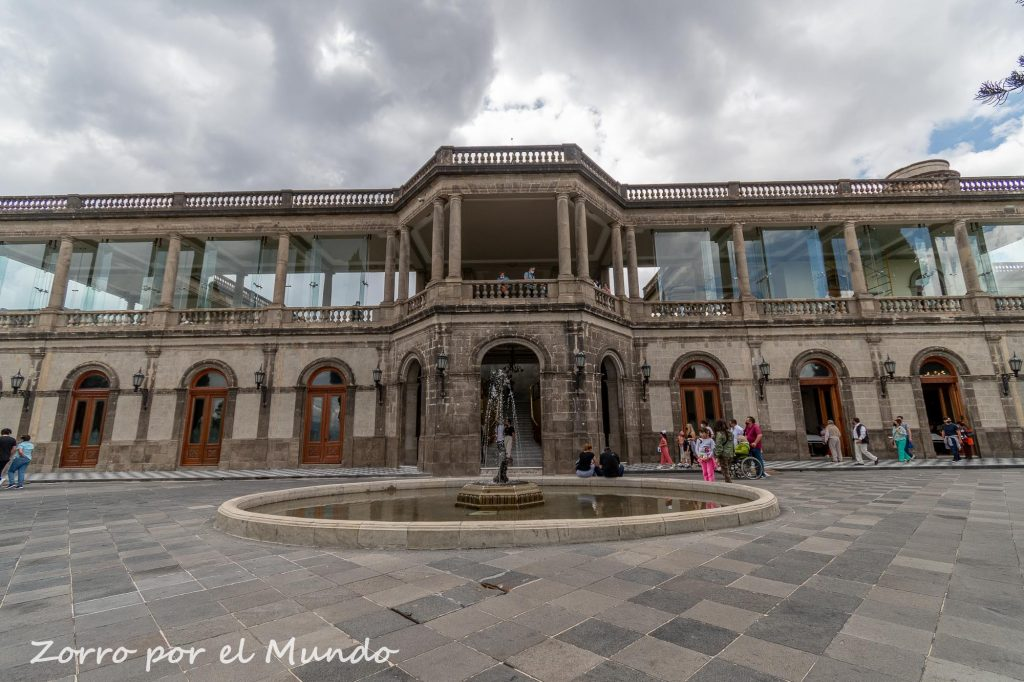 Alcazar del Castillo de Chapultepec