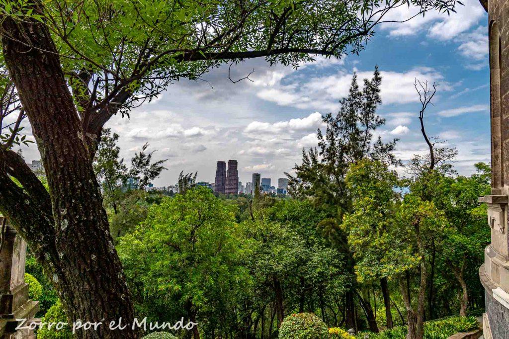 Vista del Castillo de Chapultepec