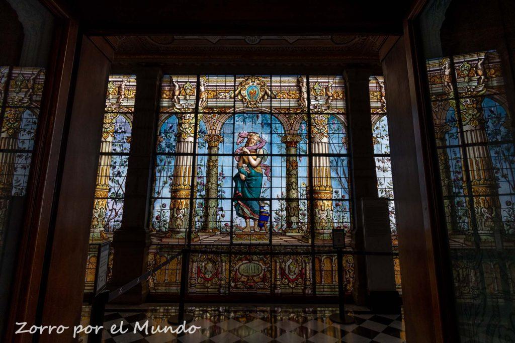 Vitral del Castillo de Chapultepec