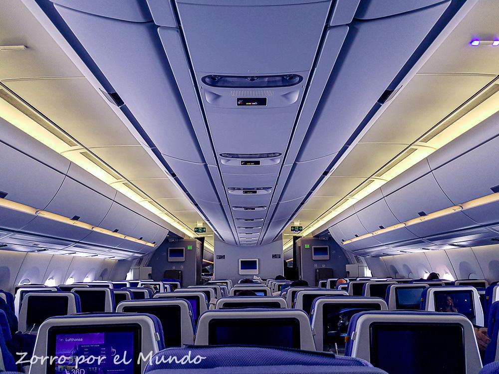 Lufthansa degrada servicio